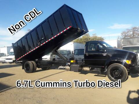 2011 Ford F-650 Super Duty for sale at DOABA Motors in San Jose CA