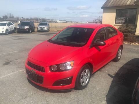 2014 Chevrolet Sonic for sale at RJD Enterprize Auto Sales in Scotia NY