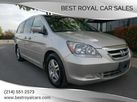 2005 Honda Odyssey for sale at Best Royal Car Sales in Dallas TX