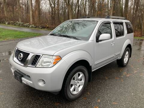 2012 Nissan Pathfinder for sale at Lou Rivers Used Cars in Palmer MA