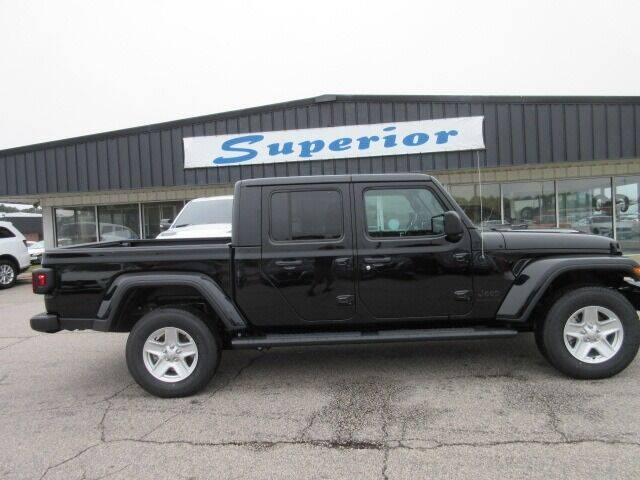 2021 Jeep Gladiator for sale at SUPERIOR CHRYSLER DODGE JEEP RAM FIAT in Henderson NC