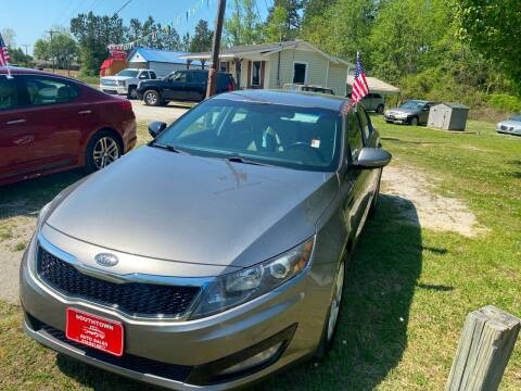 2012 Kia Optima for sale at Southtown Auto Sales in Whiteville NC