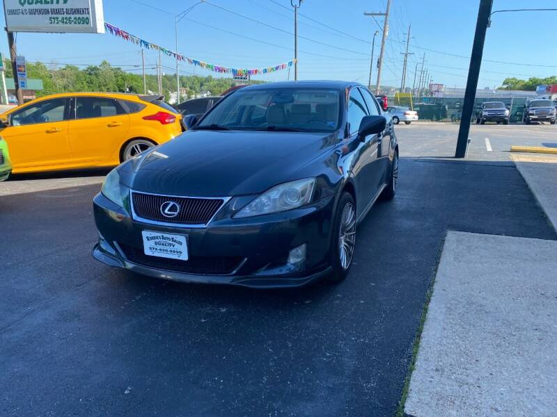 2006 Lexus IS 250 for sale at Robbie's Auto Sales and Complete Auto Repair in Rolla MO