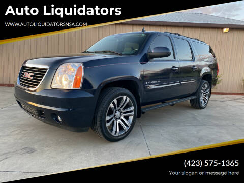 2008 GMC Yukon XL for sale at Auto Liquidators in Bluff City TN