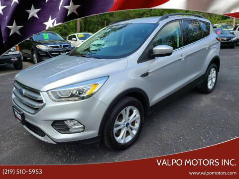 2017 Ford Escape for sale at Valpo Motors Inc. in Valparaiso IN
