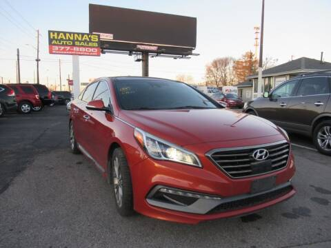 2015 Hyundai Sonata for sale at Hanna's Auto Sales in Indianapolis IN