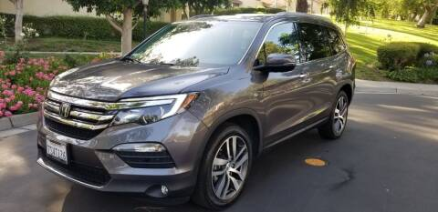 2016 Honda Pilot for sale at E MOTORCARS in Fullerton CA