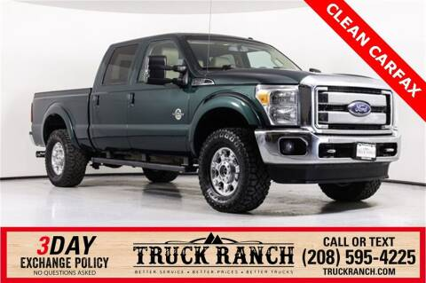 2012 Ford F-350 Super Duty for sale at Truck Ranch in Twin Falls ID