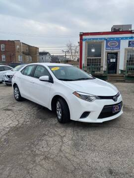 2015 Toyota Corolla for sale at AutoBank in Chicago IL