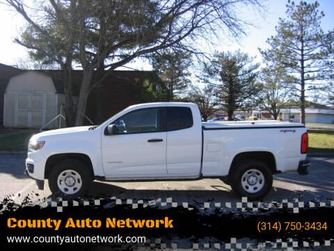 2019 Chevrolet Colorado for sale at County Auto Network in Ballwin MO