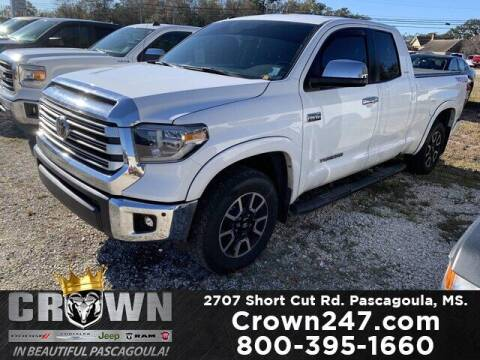 2018 Toyota Tundra for sale at CROWN  DODGE CHRYSLER JEEP RAM FIAT in Pascagoula MS