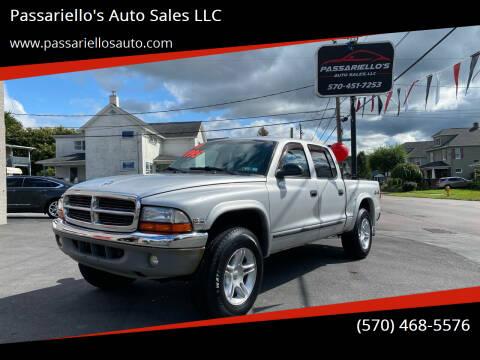2004 Dodge Dakota for sale at Passariello's Auto Sales LLC in Old Forge PA