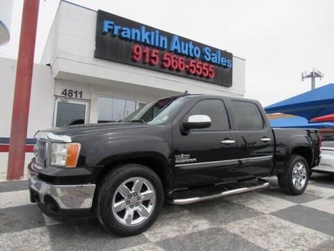 2012 GMC Sierra 1500 for sale at Franklin Auto Sales in El Paso TX