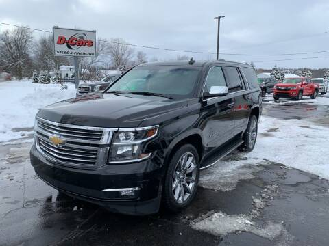 2016 Chevrolet Tahoe for sale at D-Cars LLC in Zeeland MI