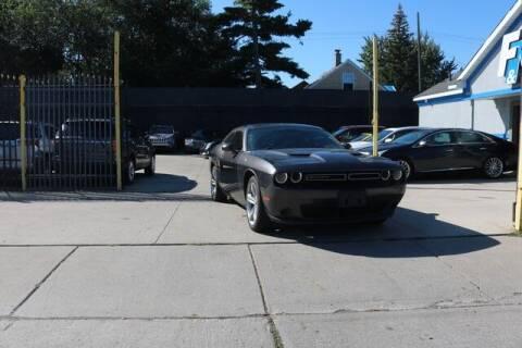 2015 Dodge Challenger for sale at F & M AUTO SALES in Detroit MI