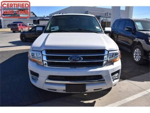 2016 Ford Expedition EL for sale at South Plains Autoplex by RANDY BUCHANAN in Lubbock TX