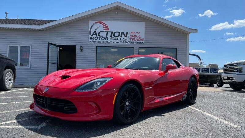 2015 Dodge Viper for sale at Action Motor Sales in Gaylord MI