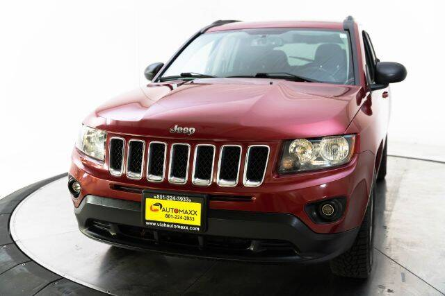 2017 Jeep Compass for sale at AUTOMAXX MAIN in Orem UT