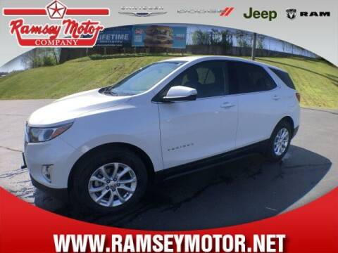 2018 Chevrolet Equinox for sale at RAMSEY MOTOR CO in Harrison AR