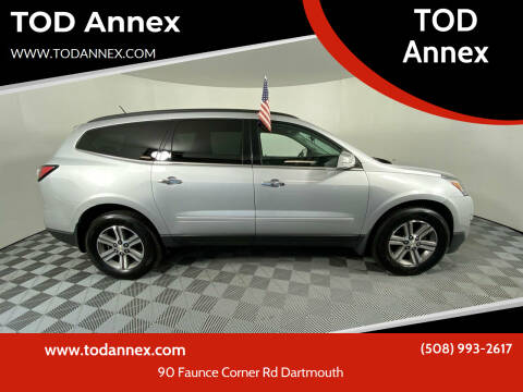 2017 Chevrolet Traverse for sale at TOD Annex in North Dartmouth MA