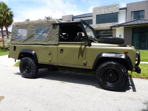 1985 Land Rover Defender for sale at Lifetime Automotive Group in Pompano Beach FL
