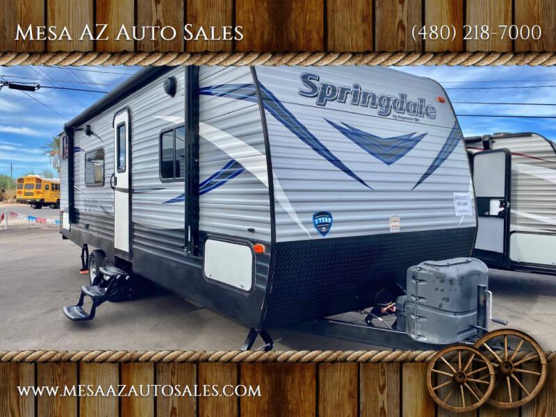 2018 Keystone Springdale for sale at Mesa AZ Auto Sales in Apache Junction AZ
