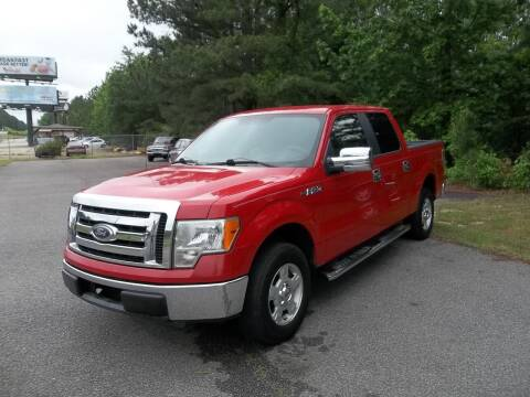 2010 Ford F-150 for sale at Anderson Wholesale Auto in Warrenville SC