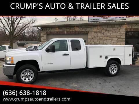 2013 Chevrolet Silverado 3500HD for sale at CRUMP'S AUTO & TRAILER SALES in Crystal City MO