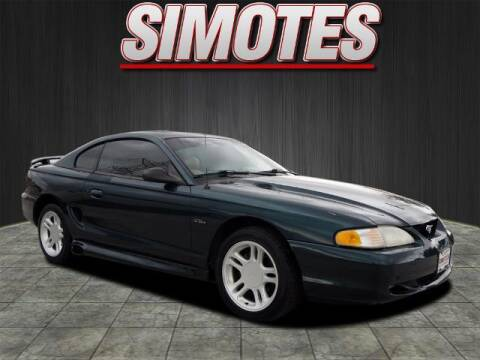 1996 Ford Mustang for sale at SIMOTES MOTORS in Minooka IL