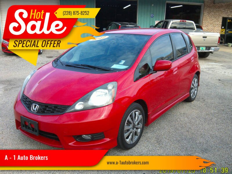 2012 Honda Fit for sale at A - 1 Auto Brokers in Ocean Springs MS