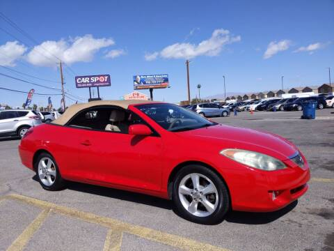 2006 Toyota Camry Solara for sale at Car Spot in Las Vegas NV