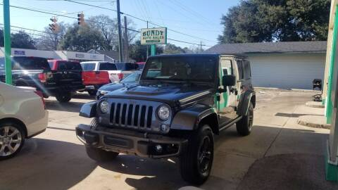 2017 Jeep Wrangler Unlimited for sale at Bundy Auto Sales in Sumter SC