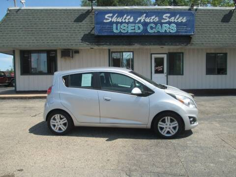 2015 Chevrolet Spark for sale at SHULTS AUTO SALES INC. in Crystal Lake IL