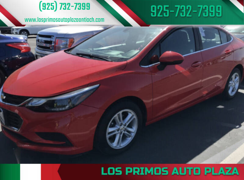 2017 Chevrolet Cruze for sale at Los Primos Auto Plaza in Antioch CA
