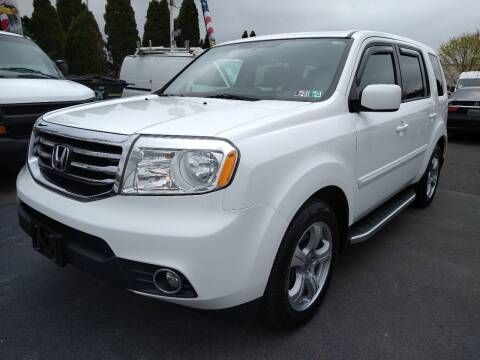2015 Honda Pilot for sale at P J McCafferty Inc in Langhorne PA