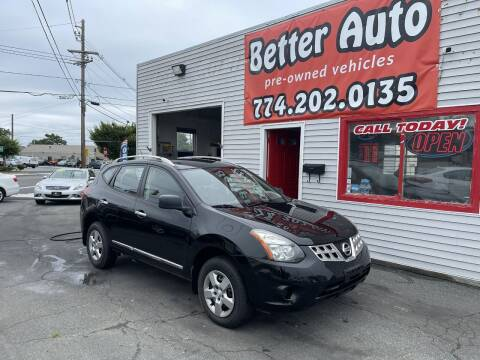 2014 Nissan Rogue Select for sale at Better Auto in Dartmouth MA