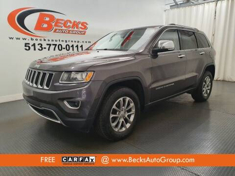 2014 Jeep Grand Cherokee for sale at Becks Auto Group in Mason OH