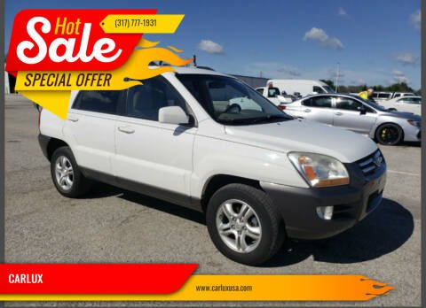2006 Kia Sportage for sale at CARLUX in Fortville IN