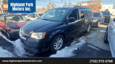 2014 Dodge Grand Caravan for sale at Highland Park Motors Inc. in Highland Park NJ