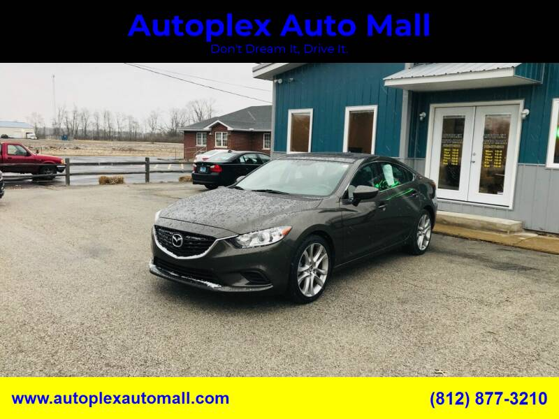 2016 Mazda MAZDA6 for sale at Autoplex Auto Mall in Terre Haute IN