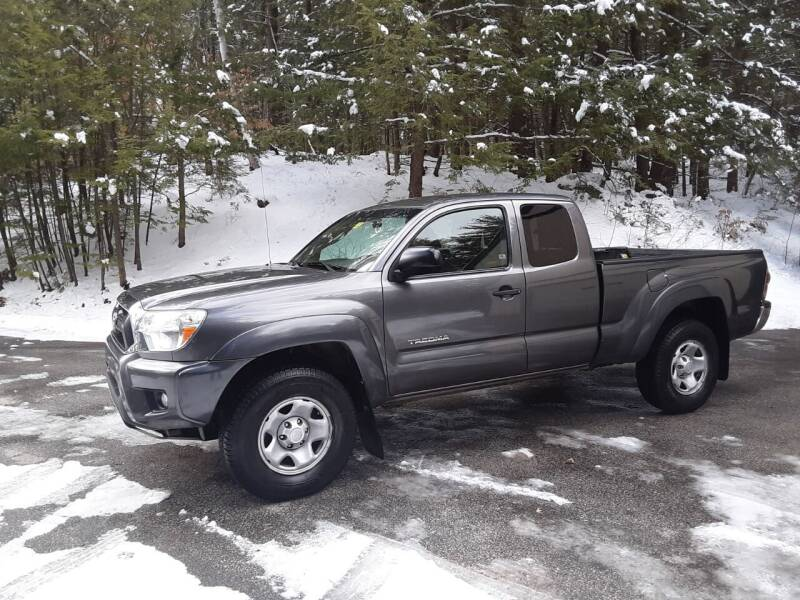 2014 Toyota Tacoma for sale at H P M Sales in Goffstown NH