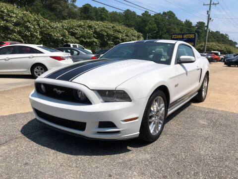 2014 Ford Mustang for sale at Oceana Motors in Virginia Beach VA