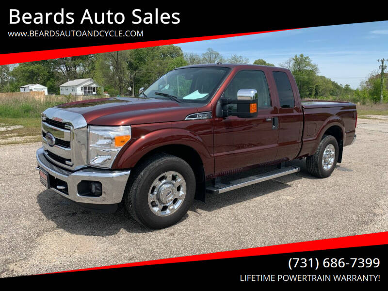 2016 Ford F-250 Super Duty for sale at Beards Auto Sales in Milan TN