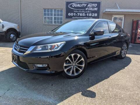 2015 Honda Accord for sale at Quality Auto of Collins in Collins MS