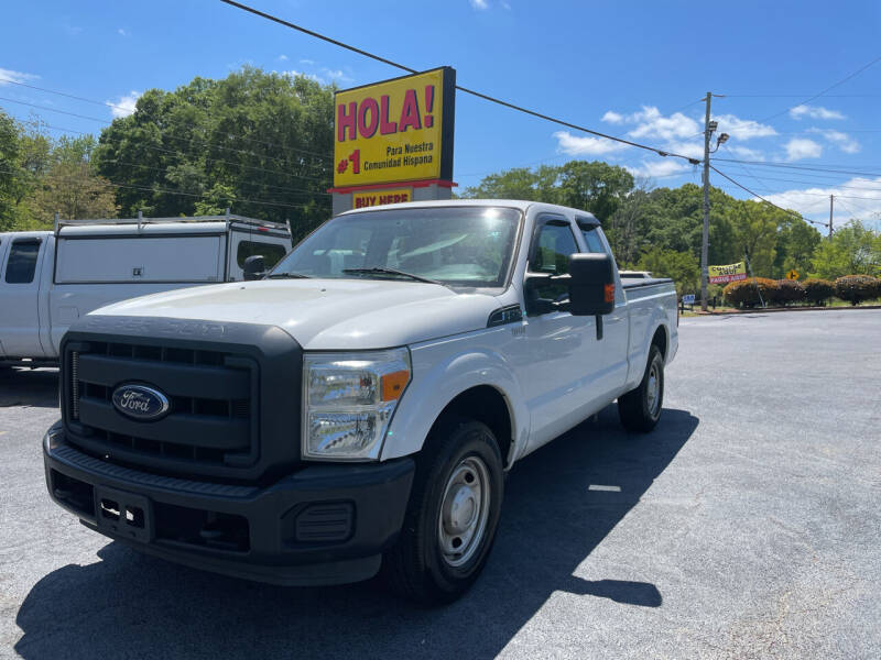2014 Ford F-250 Super Duty for sale at No Full Coverage Auto Sales in Austell GA