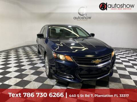 2017 Chevrolet Impala for sale at AUTOSHOW SALES & SERVICE in Plantation FL