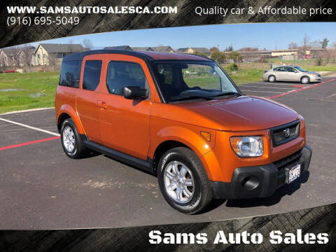 2006 Honda Element for sale at Sams Auto Sales in North Highlands CA