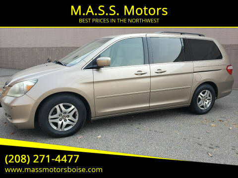 2007 Honda Odyssey for sale at M.A.S.S. Motors in Boise ID