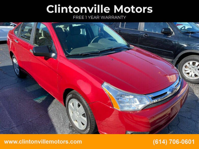 2009 Ford Focus for sale at Clintonville Motors in Columbus OH