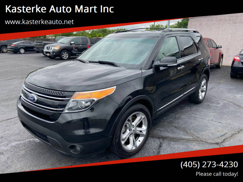 2015 Ford Explorer for sale at Kasterke Auto Mart Inc in Shawnee OK